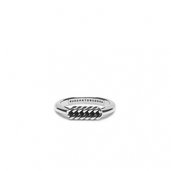 016  Refined chain ring Zilver